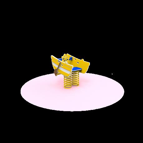 Pružinové houpadlo Loďka