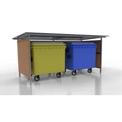 Přístřešek pro odpadové kontejnery Lido