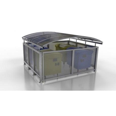 Přístřešek pro odpadové kontejnery Steel