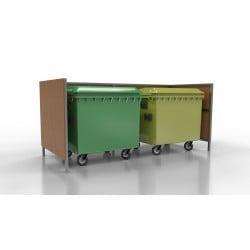 Přístřešek pro odpadové kontejnery Lido II