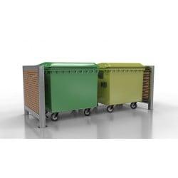 Přístřešek pro odpadové kontejnery Duo