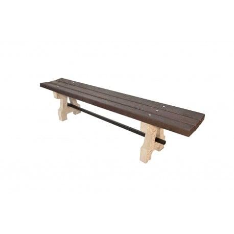 Betonová lavička Plast