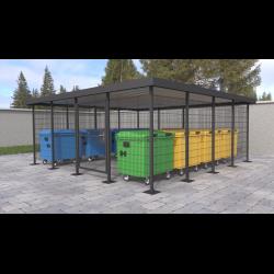 Přístřešek pro odpadové kontejnery Nero
