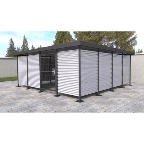 Přístřešek pro odpadové kontejnery Flex