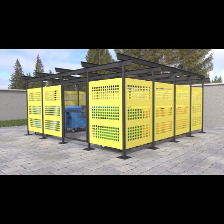 Přístřešek pro odpadové kontejnery Sun