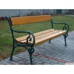 Litinová lavička Schonbrunn