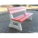 Betonová  lavička