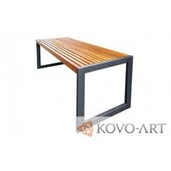 Kovový stůl Deluxe