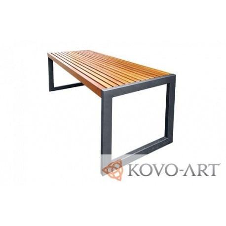 Kovový stůl Deluxe - kovový stůl